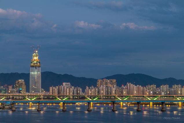 Seoul_Korea_Sunset_Seongsu_Bride_Hanriver_1